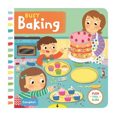 Book cover for Busy Baking